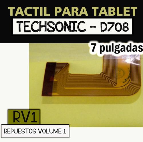 tactil para tablet techsonic - d708