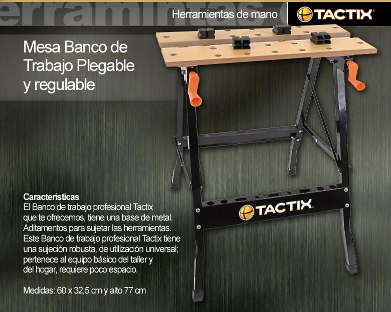 Banco De Tactix Trabajo Plegable 330001 OPXikuTZ