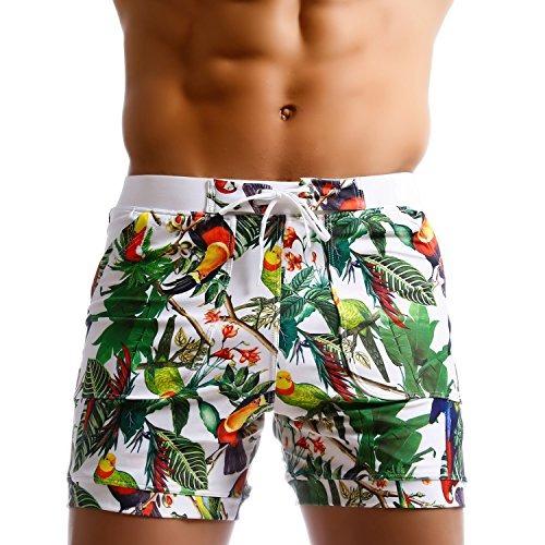 3c0dfc99e0c5 Taddlee Bañadores Pantalones Cortos Tipo Boxeador Para Surf