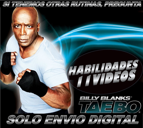 tae bo habilidades 11 videos zumba fitness rutina adelgazar