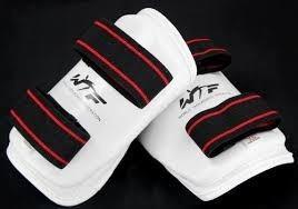 taekwondo protector canilleras - importados!!!