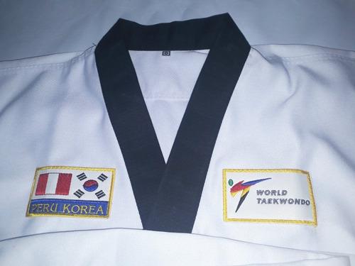 taekwondo uniforme completo
