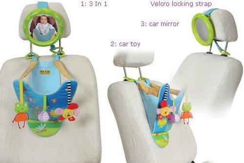 taf toys in-car play center   compañero de viaje de padre...