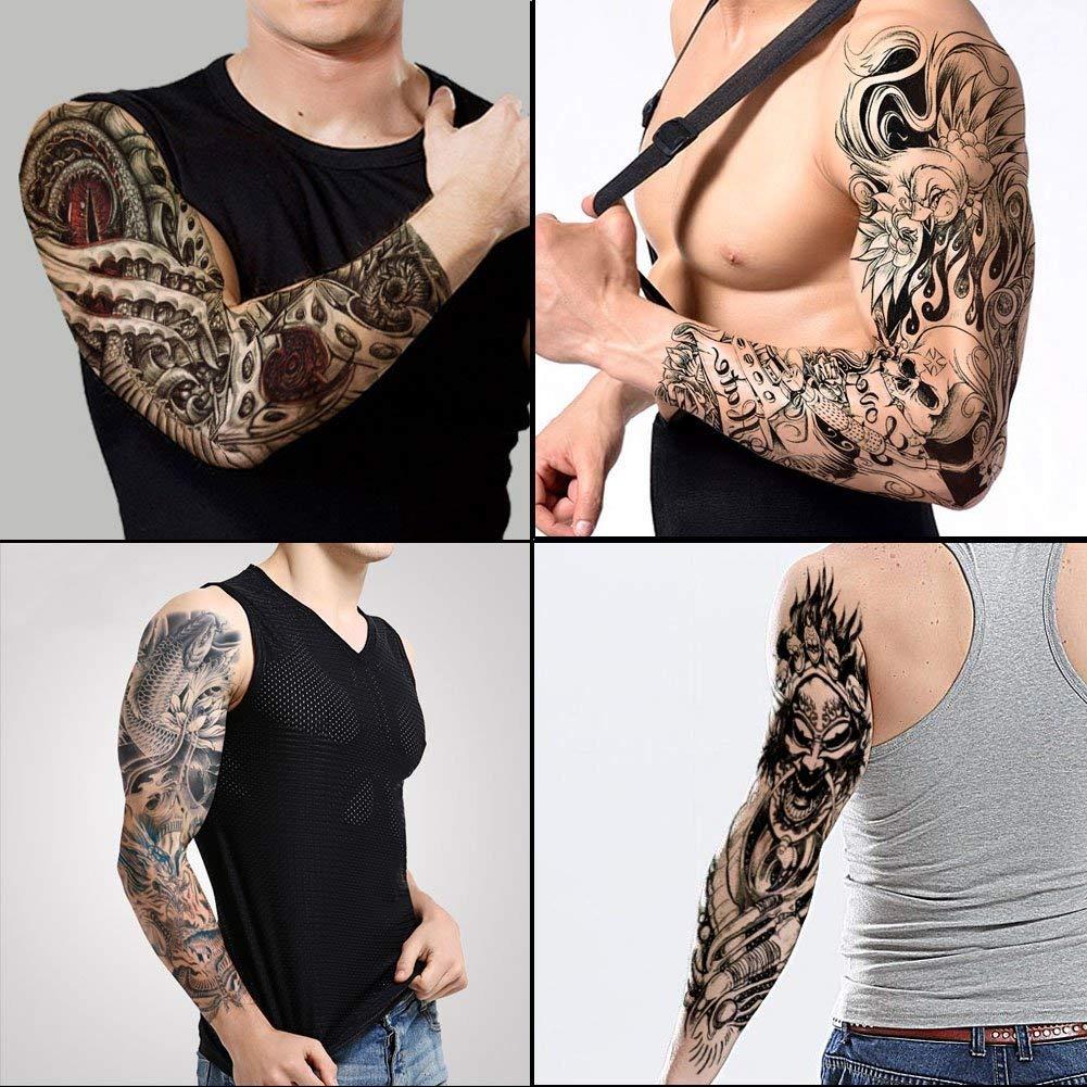 Tafly Tatuajes De Brazo Completo Pegatina Hombro Grande T