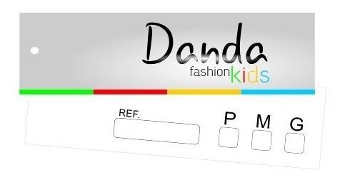 tag etiqueta para roupa bolsas 9x2,5cm  2000 unidades