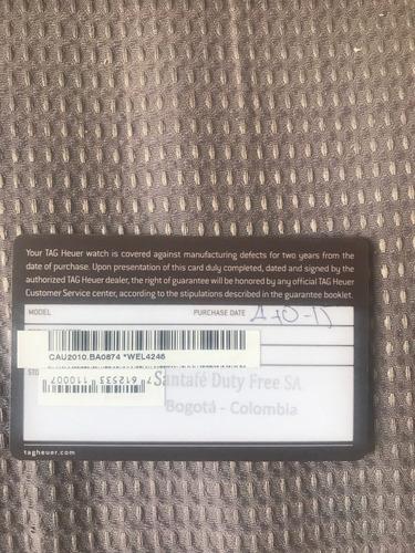 tag heuer - fórmula 1 - calibre 16 (44mm)