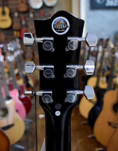 tagima violão folk elétrico kansas bk