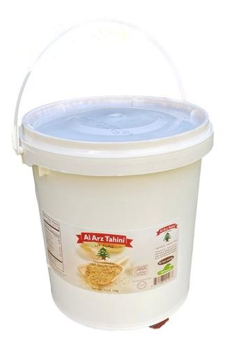 tahini integral, cubeta de 5 kg de al arz tahini