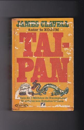 tai-pan - james  clavell - 4ª edição
