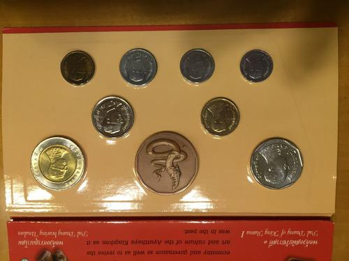 tai-s01 set 8 monedas tailandia 2000 unc-bu ayff