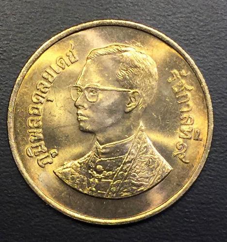 tai006 moneda tailandia 1 bath 1982 unc-bu ayff