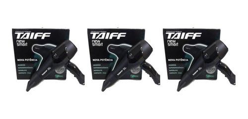 taiff new smart 1700w secador capilar 110v (kit c/03)