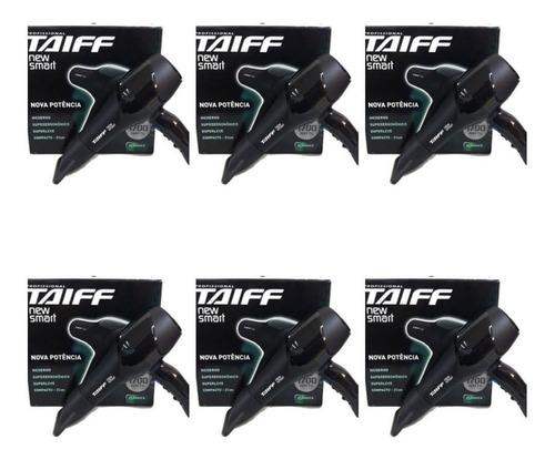 taiff new smart 1700w secador capilar 110v (kit c/06)