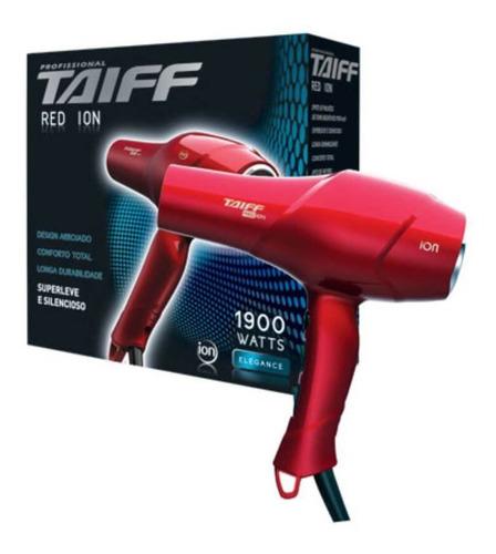 taiff secador red íon vermelho 110v