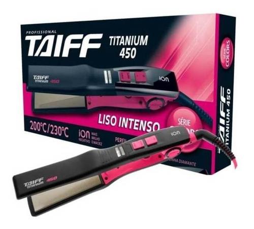 taiff titanium 450 colors chapa capilar pink bivolt