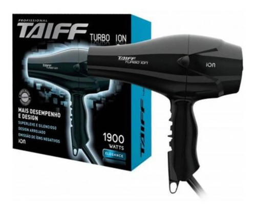 taiff turbo íon 1900w 220v secador capilar 220v