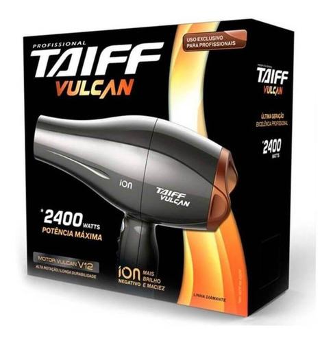 taiff vulcan íon 2400w 110 secador capilar 110v
