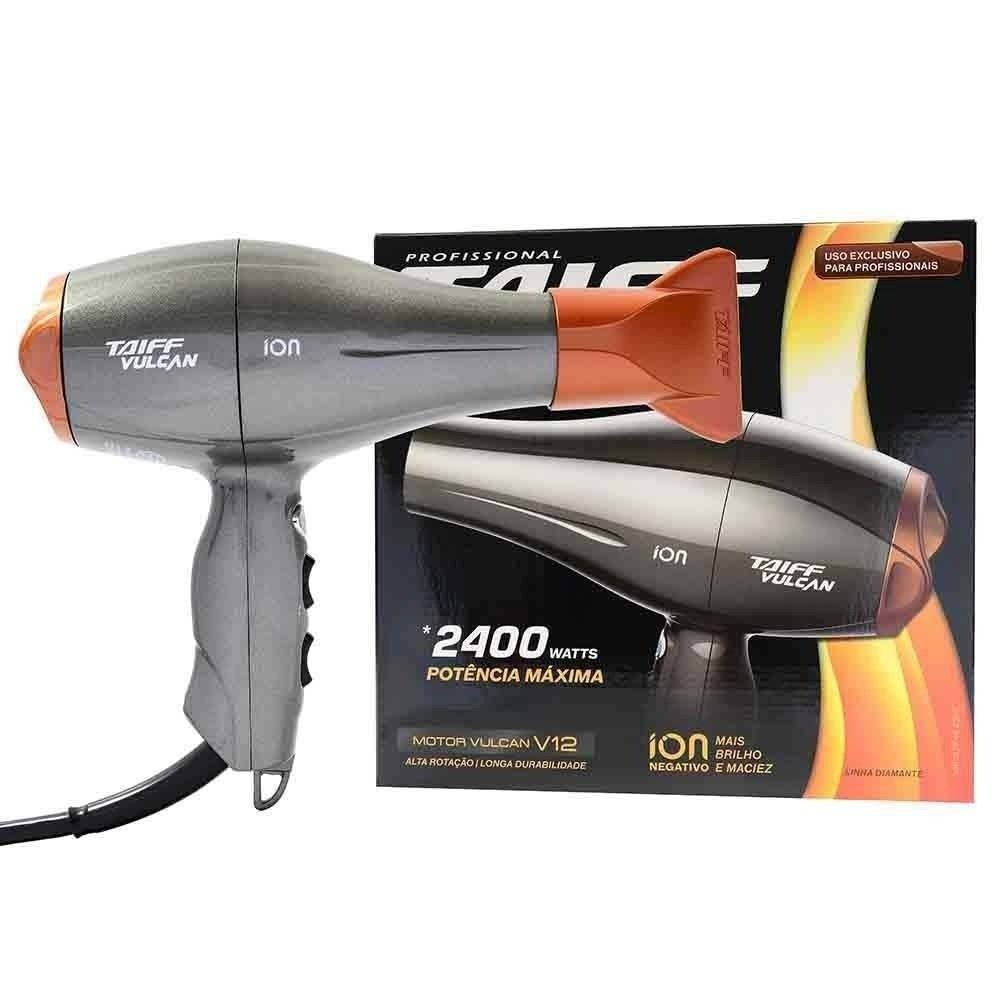 eb5665973 Taiff Vulcan Secador Profissional 2400w + Brinde - R$ 599,99 em ...