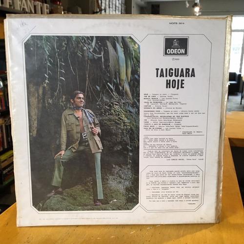 taiguara lp hoje - disco vinil