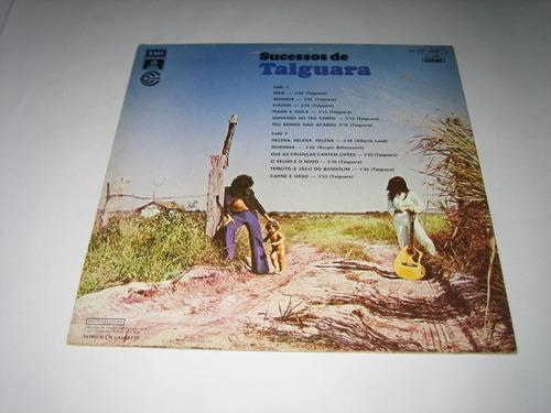 taiguara - sucessos de - 1974 - lp