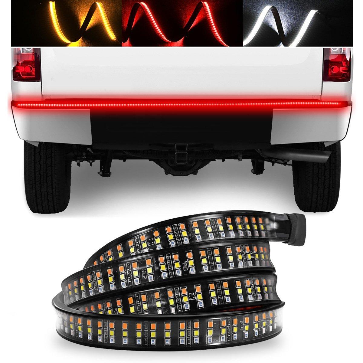 Tailgate light bar swatow industries triple row 60inch l cargando zoom aloadofball Gallery