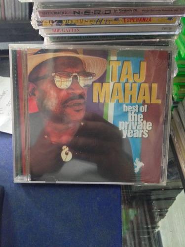 taj mahal best of the private years cd nuevo importado blues