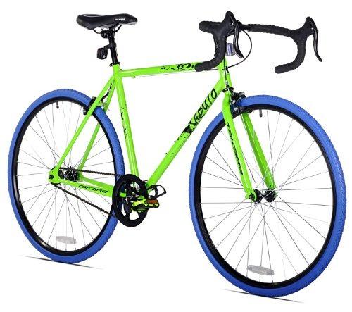 takara kabuto solo velocidad bici, 700c, verde/azul, marco