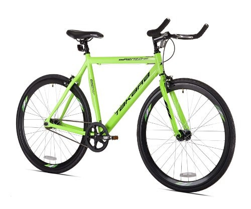 takara renzo fixie bicicleta, 700c, verde