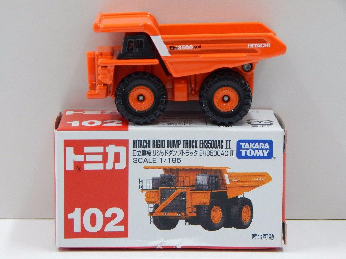takara tomy tomica nº102 hitachi rigid dump truck eh3500ac. Carregando zoom.