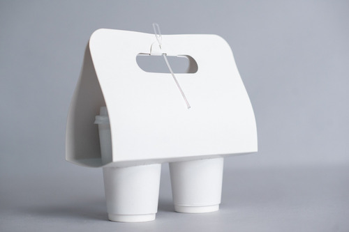 take away arnés porta 2 vasos (x 200 u.) - 105 bauletto