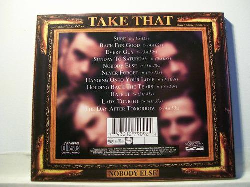 take that, nobody else, cd original raro