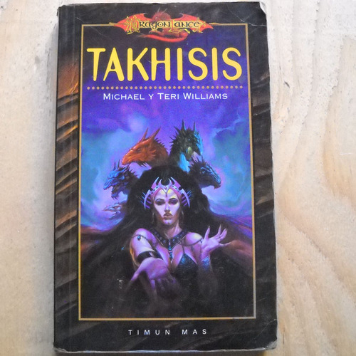 takhisis, dragon lance, michael y teri williams, ed. timun m