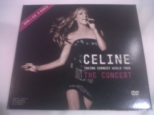 taking chances world tour: the concert, celine dion cd+dvd