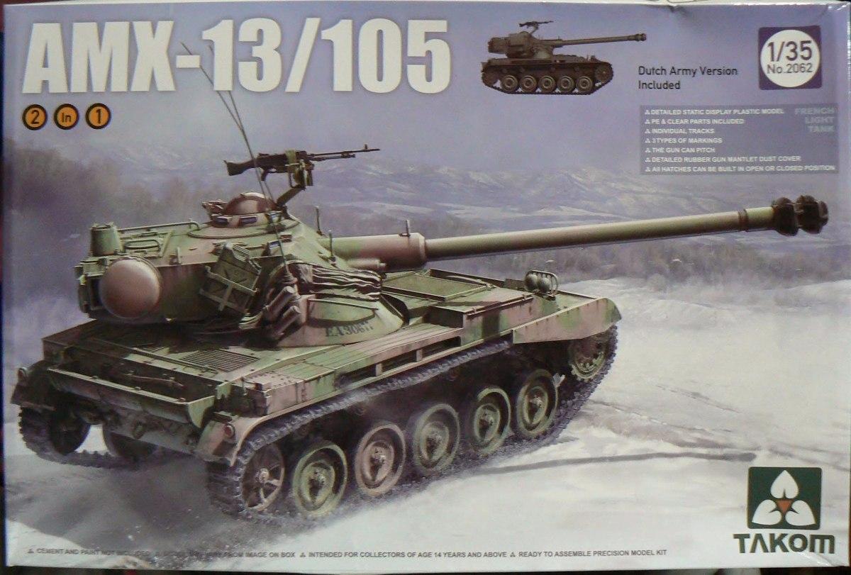 Takom 1/35 2062 Amx-13 /105 Light Tank Ejercito Argentino - $ 2.090 ...