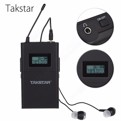 takstar wpm-200 monitoreo personal inalámbrico in ears