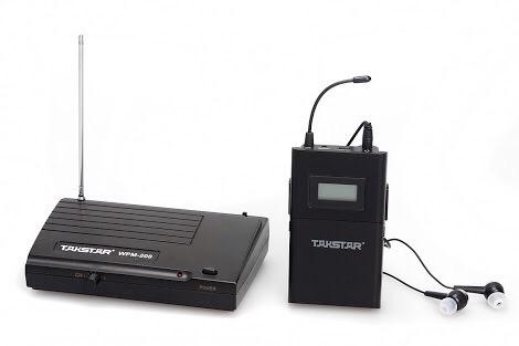 takstar wpm200 sistema monitoreo personal inalámbrico 12msin