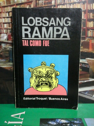 tal como fue,  lobsang rampa, esoterismo.