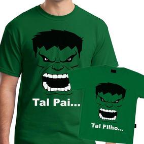 3ddb0ae96f517f Tal Pai Tal Filha(o), Hulk, Kit C/ 3