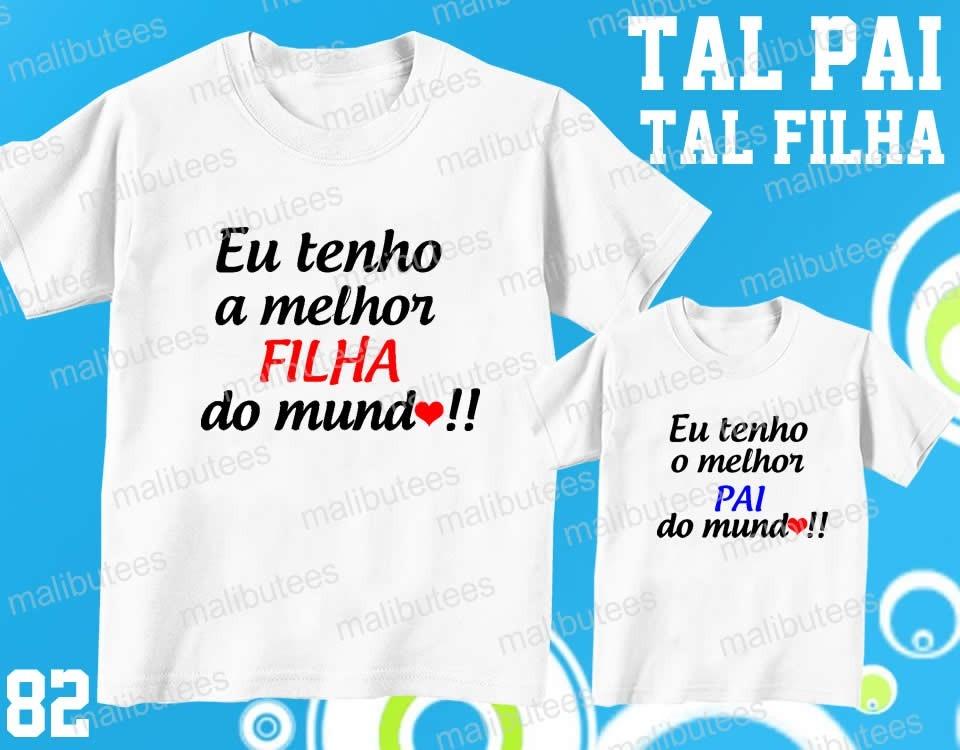 Tal Pai Tal Filho Camiseta Palmeiras Personalizada Kit Com 2 - R  59 ... d310f78753dff