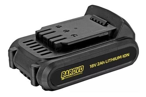 taladro a batería barovo 13 mm + cargador + batería ion liti
