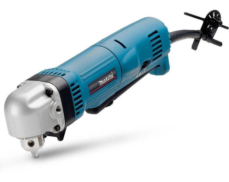 Taladro Angular Con Luz 450W 2400 Rpm Portabrocas 10 Con Llave Makita DA3010F