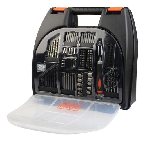 taladro atornillador 12v maletin acc cd121k100 black + decke
