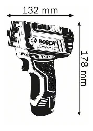 taladro atornillador bateria bosch gsr 12v-15fc 5en1 maletin