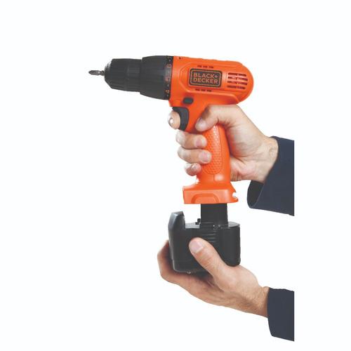 taladro atornillador black + decker 10mm 9,6v cd961