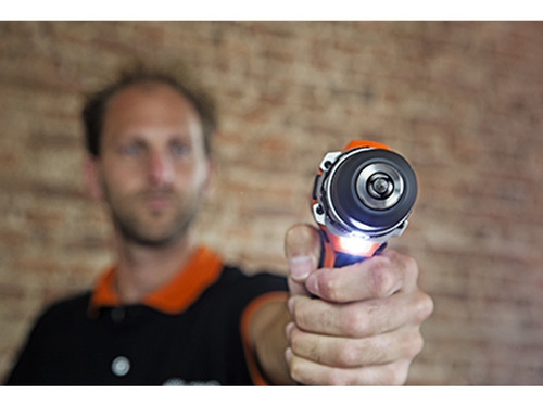 taladro atornillador daewoo inalambrico 18v 2 baterías litio