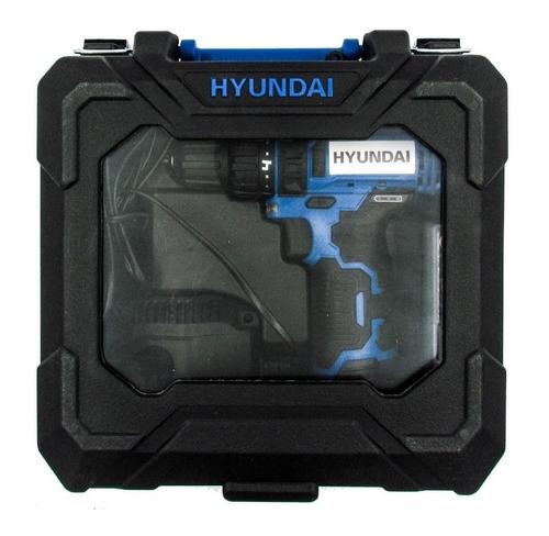 taladro atornillador hyundai hycd12 litio 12v maletin sti