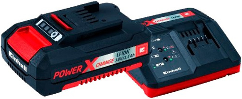 taladro atornillador inalambrico 18v einhell 2 baterias 1,5