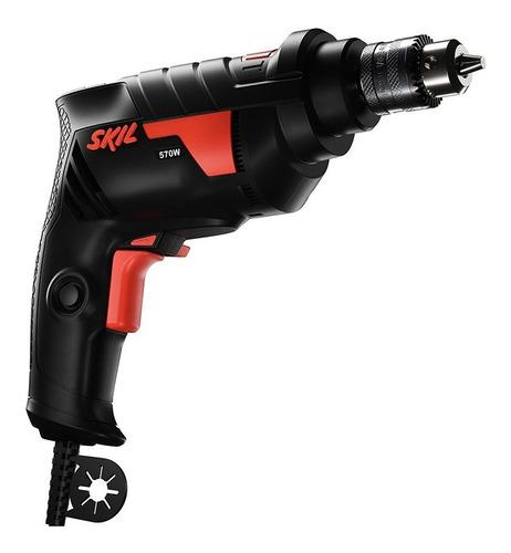 taladro atornillador percutor electrico skil 6604 570w 10mm
