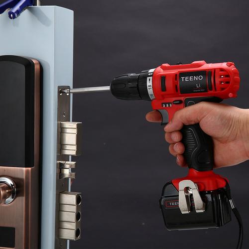 taladro atornillador teeno 5861-1 de 21v c/batería de 1.5ah