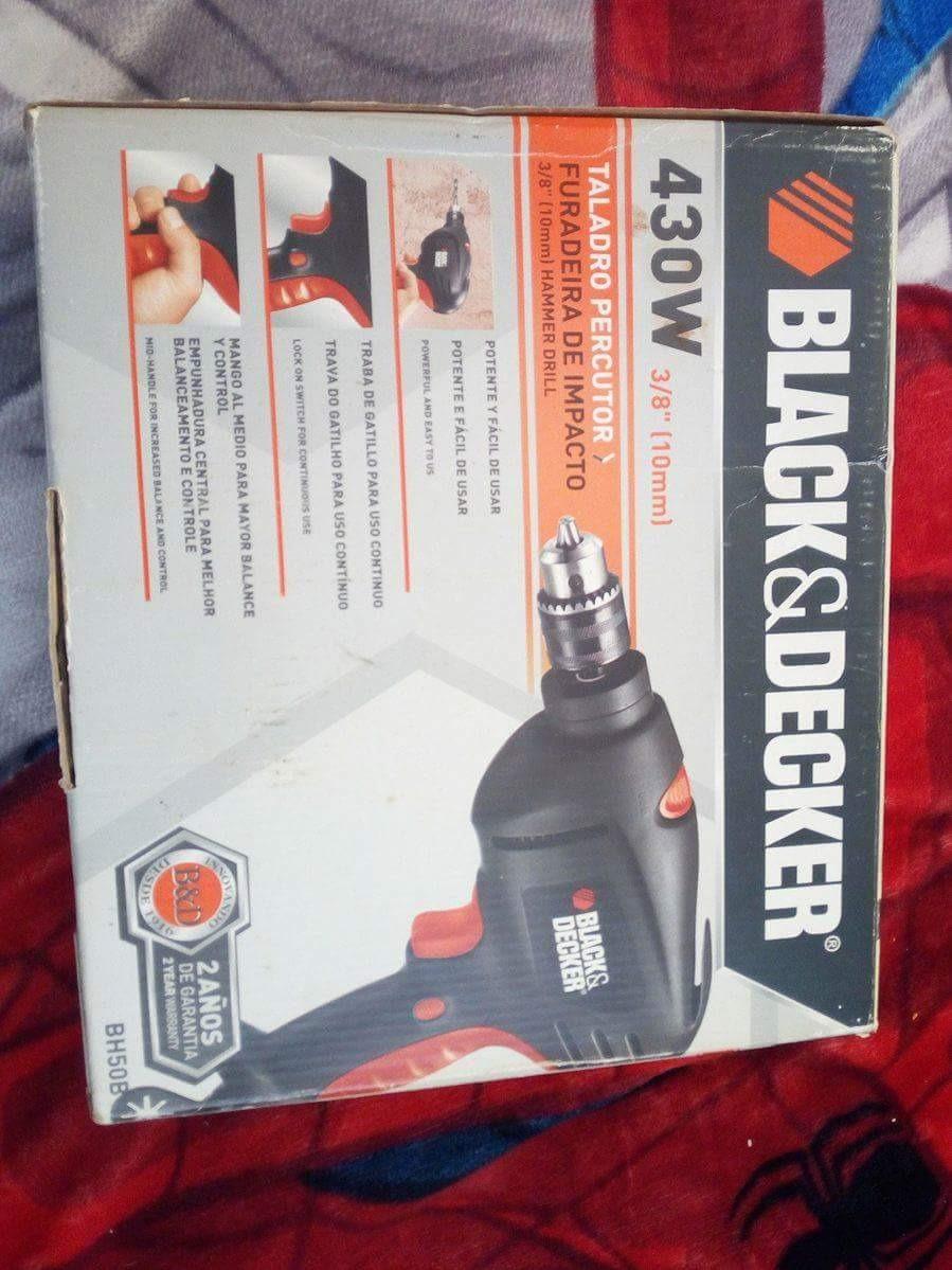 Taladro black and decker en mercado libre for Black friday herramientas electricas